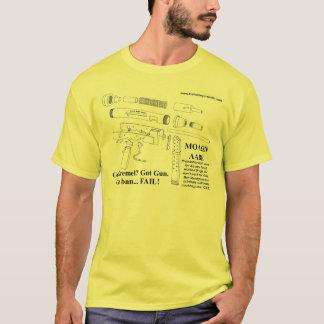 Gun Ban... FAIL! v.2 T-Shirt