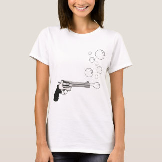 Gun Blowing Bubbles T-Shirt