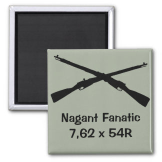 Gun cabinet magnet for Nagant collector!
