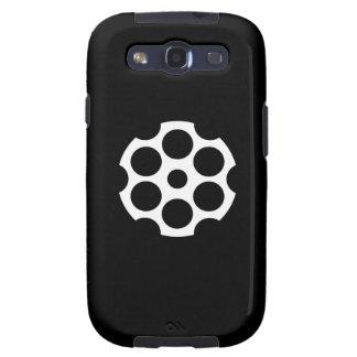 Gun Chamber Pictogram Samsung Galaxy S3 Case