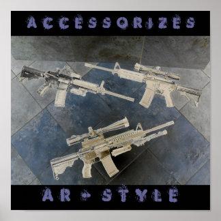 gun collection 097, A  C  C  E  S  S  O  R  I  ... Poster