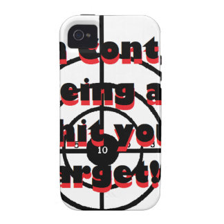 Gun Control Being able to hit your target iPhone 4/4S Cases