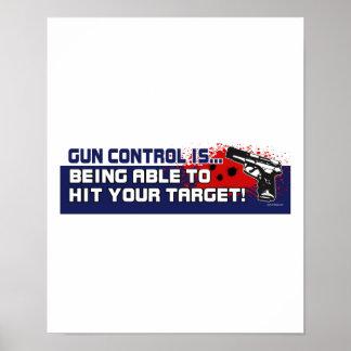 Gun-Control - Customized Poster