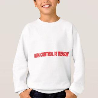 GUN CONTROL IS TREASON BLK.png Sweatshirt