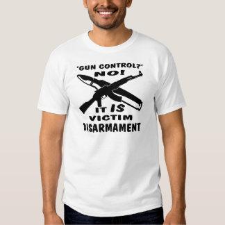 Gun Control Is Victim Disarmament T Shirt