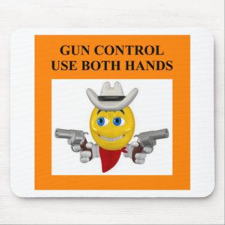 gun control joke mouse pad