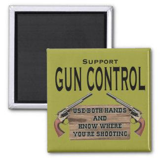 Gun Control Magnet #1
