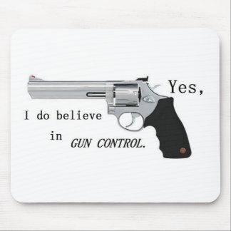 Gun Control Mouse Pad
