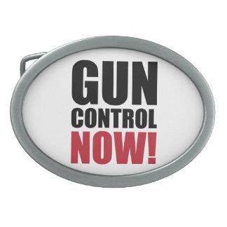 Gun control now belt buckles