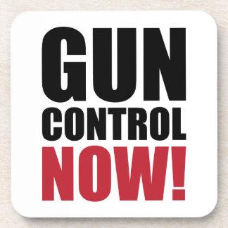 Gun control now drink coaster
