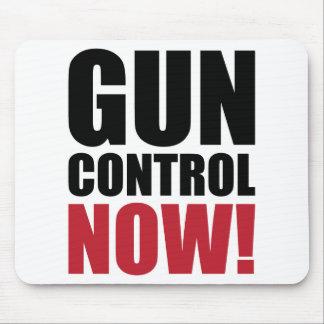 Gun control now mouse pad