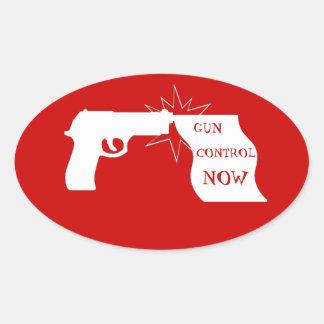 Gun Control Now Sticker
