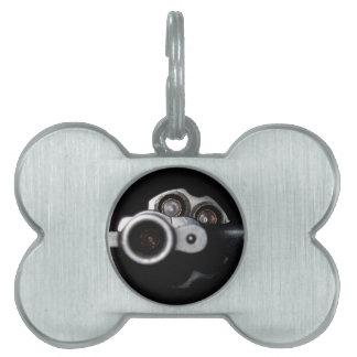 gun control pet ID tags