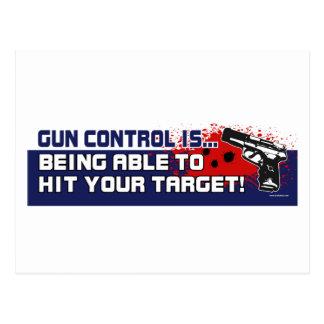 Gun-Control Post Cards
