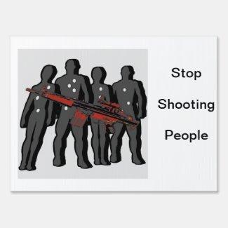 Gun Control Protest Sign