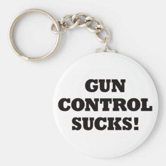 Gun Control Sucks Key Chain