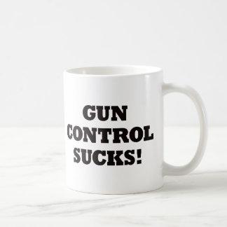 Gun Control Sucks Classic White Coffee Mug