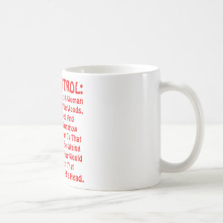 Gun Control The Theory That A Woman Raped Coffee Mug