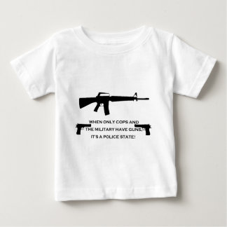 gun cops baby T-Shirt