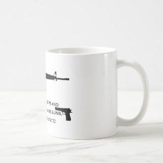 gun cops coffee mugs