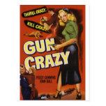 Gun Crazy Postcard