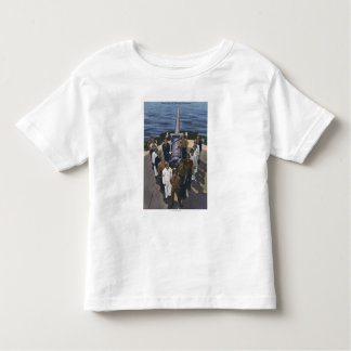 Gun Crew in Victory Formation - US Navy Toddler T-shirt
