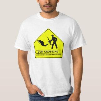 Gun Crossing T-shirt