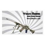 Gun dealer business card