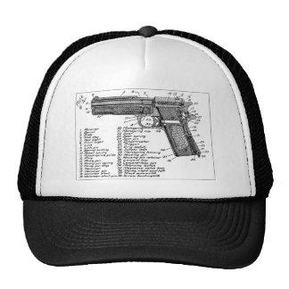 Gun Diagram Trucker Hat