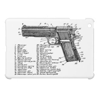Gun Diagram V2 Case For The iPad Mini