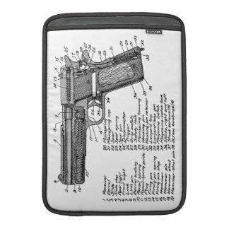 Gun Diagram V2 MacBook Sleeve
