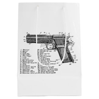 Gun Diagram V2 Medium Gift Bag