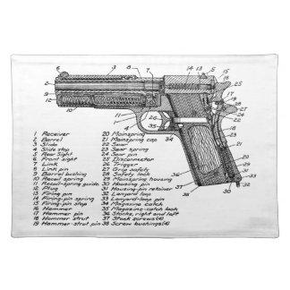 Gun Diagram V2 Placemats