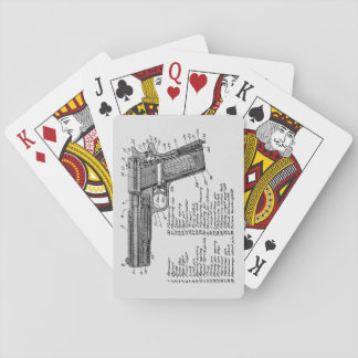 Gun Diagram V2 Playing Cards