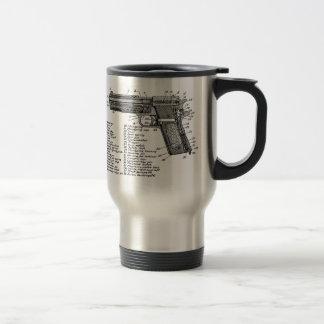 Gun Diagram V2 Travel Mug