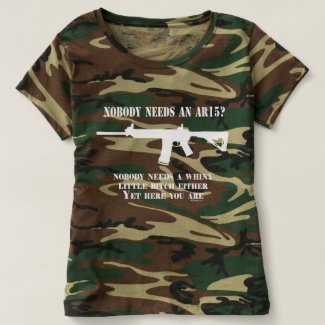 Gun Enthusiast | Nobody needs an AR15? T-shirt