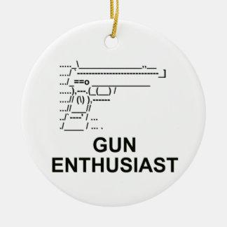 Gun Enthusiast Ornaments