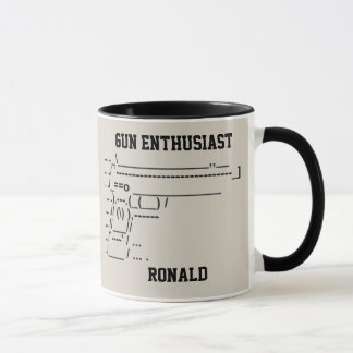 Gun Enthusiast Symobol Mug