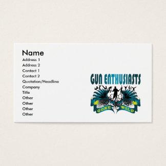 Gun Enthusiasts Gone Wild Business Card