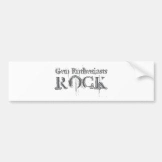 Gun Enthusiasts Rock Bumper Stickers