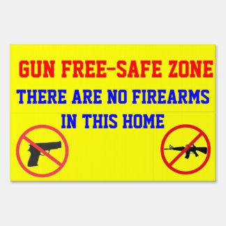 GUN FREE-SAFE ZONE YARD SIGNS