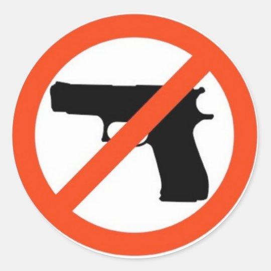 GUN-FREE ZONE STICKERS