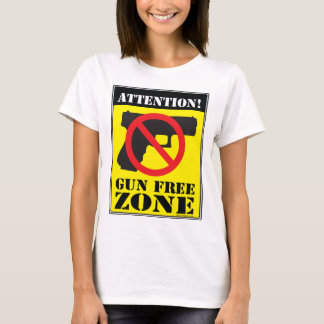 Gun Free Zone T-Shirt