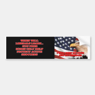 Gun Free Zones Do Not Work Bumper Sticker