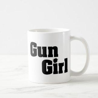 Gun Girl Coffee Mug