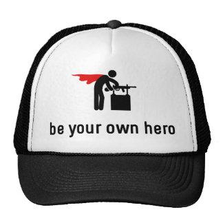 Gun Hero Trucker Hat