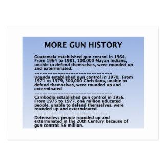 gun history post cards