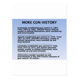 gun history postcards