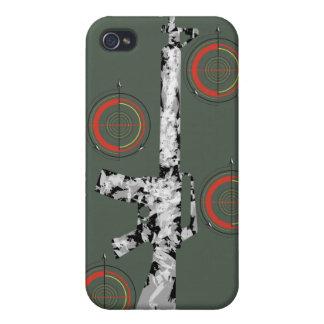 gun iphone case iPhone 4 cover