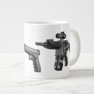 Gun Jumbo Coffee Mug